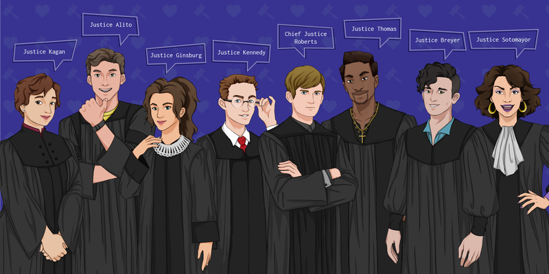 Illustration for article titled Video Game About Dating Supreme Court Justices Has A Different Ring To It These Days