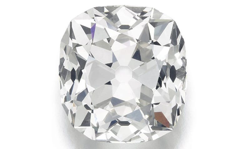 El diamante en la casa de subastas.  Sotheby's