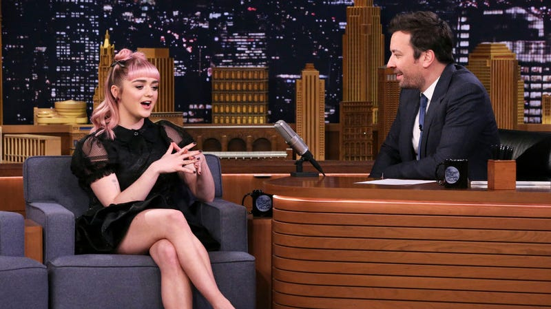 Maisie Williams, Jimmy Fallon