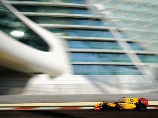 Illustration for article titled Formula One's Last Act is Under Way in Abu Dhabi