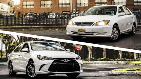 Is A Brand New Toyota Camry Exactly The Same As One Made 12 Years Ago