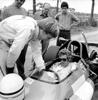 Illustration for article titled Even In A Formula Two Car, Steve McQueen Is Cooler Than You