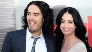 Illustration for article titled Russell Brand Says He 'Loved' Being Married to 'Amazing' Katy Perry