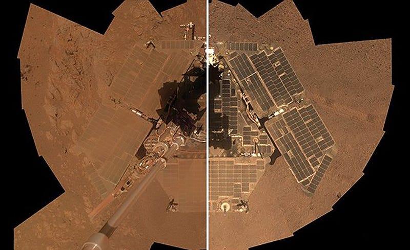Illustration for article titled Los eventos de limpieza de la NASA: por qué los rover sobre Marte aparecen más limpios cada cierto tiempo