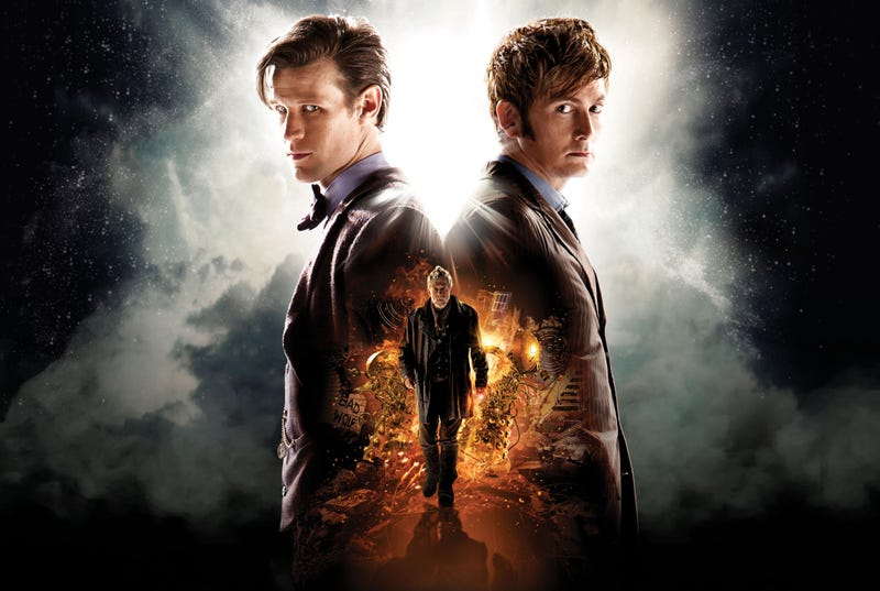 Illustration for article titled 50 years in the making - The Day of The Doctor Spoilers and Discussion