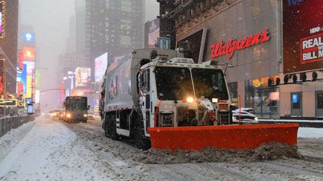 A Major Nor easter Could Drop Nearly Two Feet of Snow to Start the Week