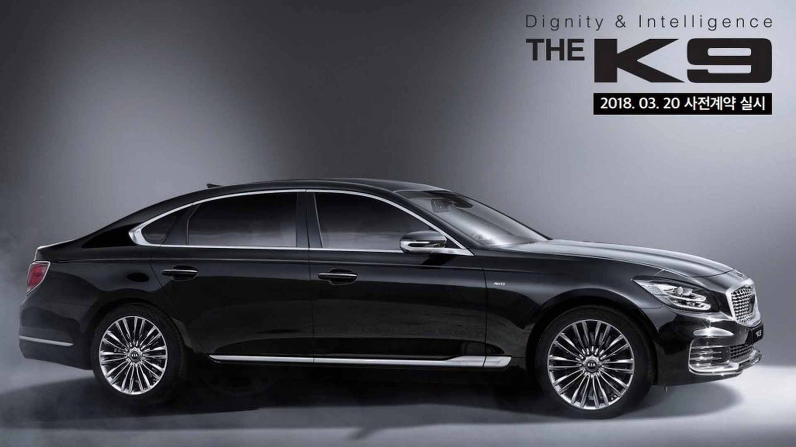 Here\'s The 2019 Kia K9, The Replacement For The K900 You Forgot ...