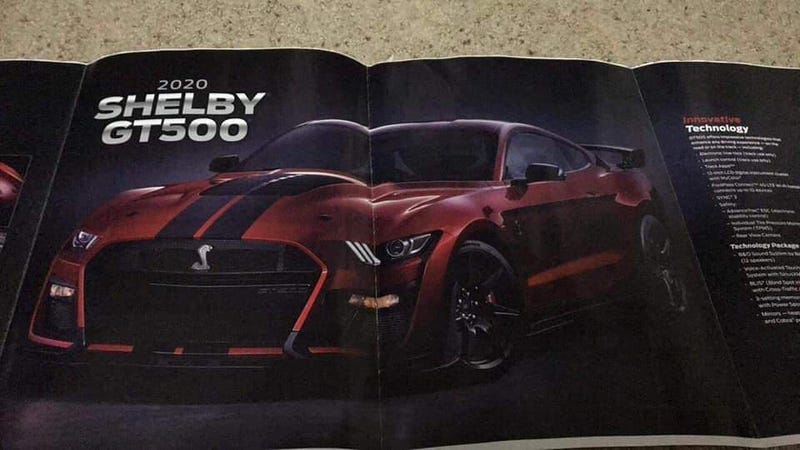 2020 Ford Mustang Shelby Gt500 This Might Be It For Real