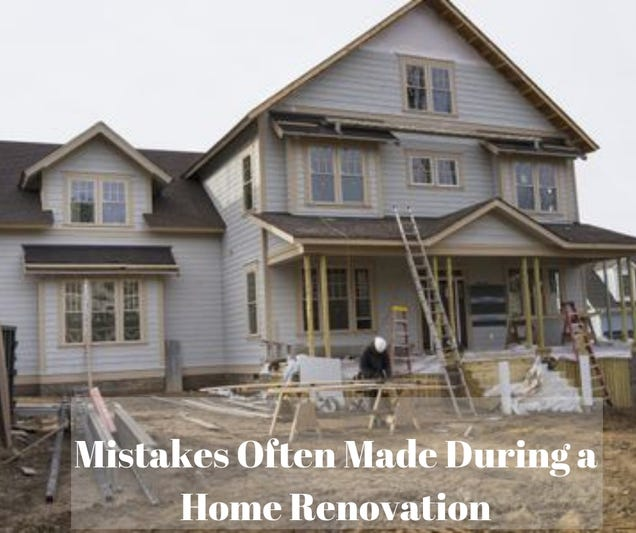 Illustration for article titled 4 Mistakes Often Made During a Home Renovation