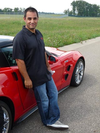 Illustration for article titled Juan Pablo Montoya Abuses A Corvette ZR1 With Me In It