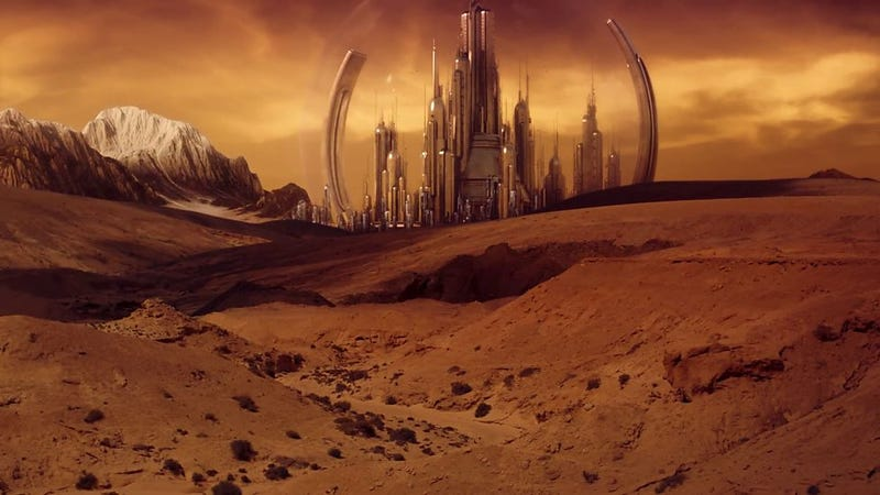 Gallifrey in all its glory