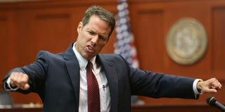 Assistant State Attorney John Guy at Zimmerman's trial (pool/Getty Images)