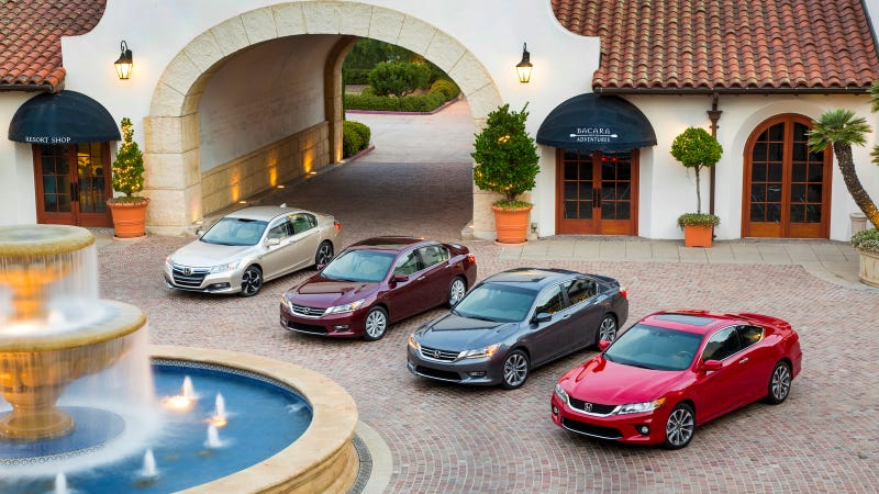 Illustration for article titled Award-Winning Honda Accord Lineup Gets Even Stronger For 2014