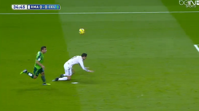 absurd cristiano ronaldo dive results in penalty