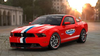 Illustration for article titled 2011 Ford Mustang GT Daytona 500 Pace Car: Redder, Not Just Better