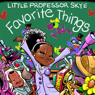 Little Professor Skye coverCourtesy of Munson Steed, artwork by Kareem Kenyada