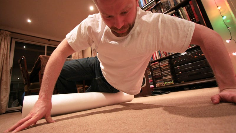 Illustration for article titled This DIY Foam Roller Gives Your Tired Muscles a Great Massage