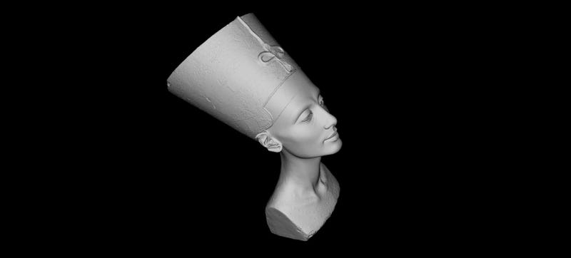 Illustration for article titled Artists Have Secretly 3D-Scanned Nefertiti's Bust For Anyone to Print