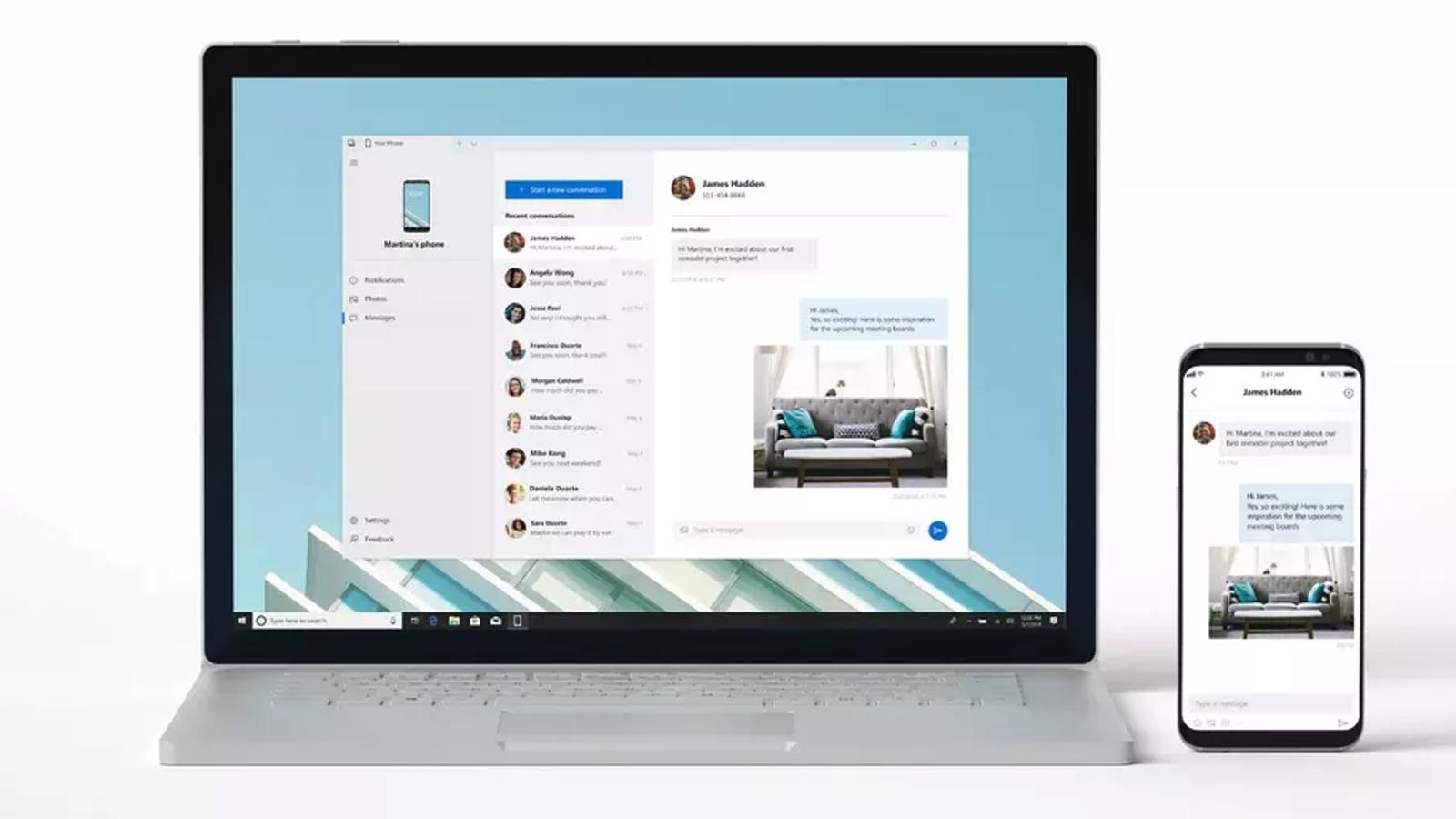 La nueva actualización de Windows 10 ya está aquí, y permite controlar tu móvil desde el PC