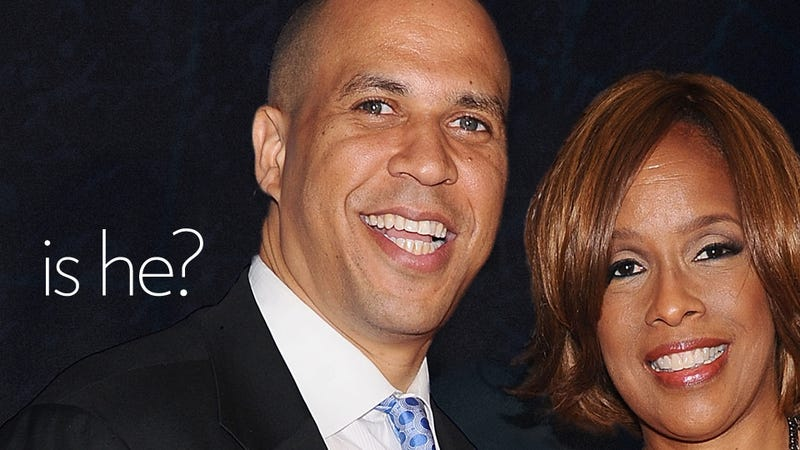 Illustration for article titled Cory Booker Tackles Cory Booker's History of Homophobia—So Is He Gay or What?