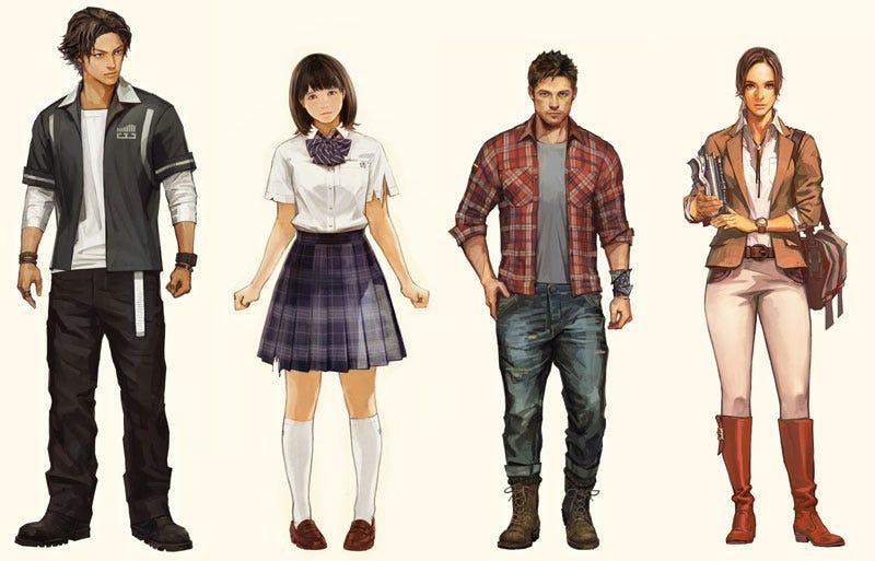 Illustration for article titled Japan's Left 4 Dead Characters Include Schoolgirl, Bartender