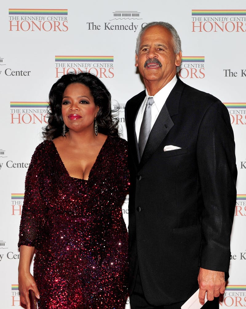 Oprah and Stedman (Getty Images)
