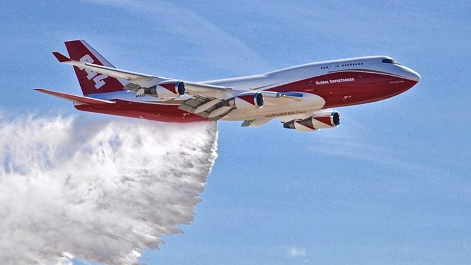 This Boeing 747 Is The World S Biggest Firefighting Beast