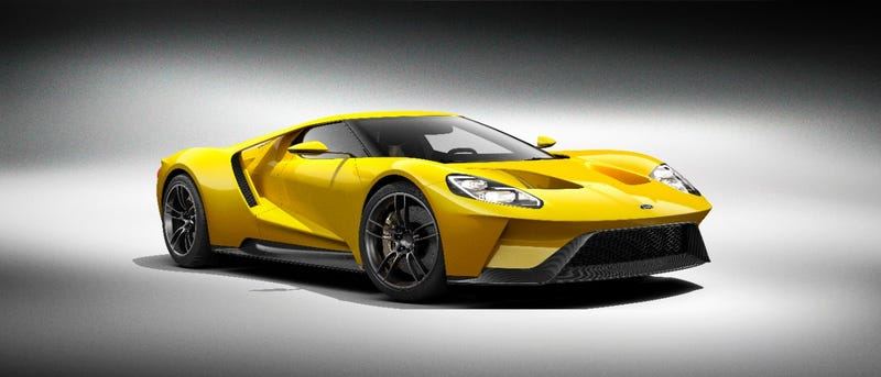 Illustration for article titled These Are The Ford GT Photos That Will Make Ferrari Shit Their Dicks