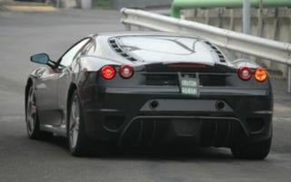 Illustration for article titled Spy Photos: Still More on the Ferrari F430 Challenge Stradale