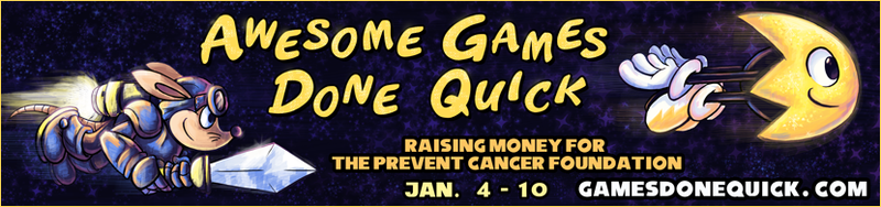 Illustration for article titled Awesome Games Done Quick 2015 Reminder