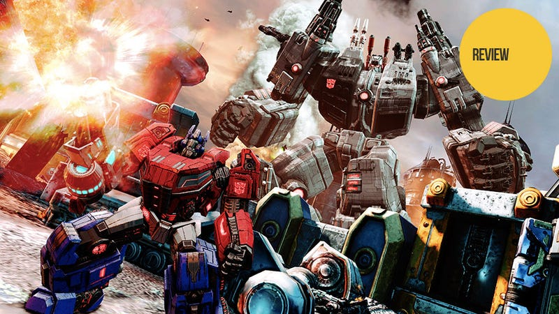 Illustration for article titled Transformers: Fall of Cybertron: The Kotaku Review