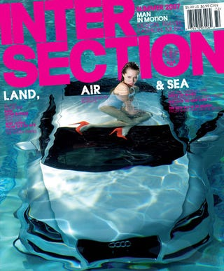 Illustration for article titled Audi Goes Swimming With Intersection