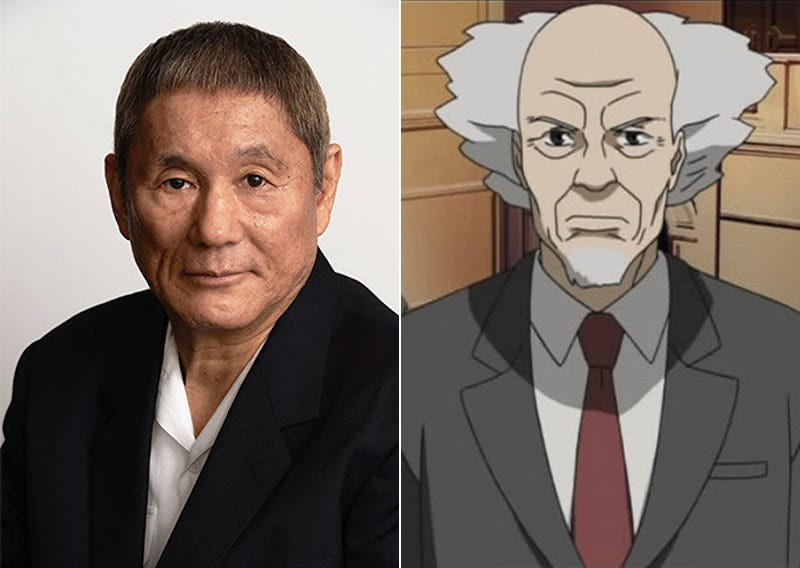 Illustration for article titled Hollywood Ghost in the Shell Movie Finally Gets a Japanese Actor: Beat Takeshi