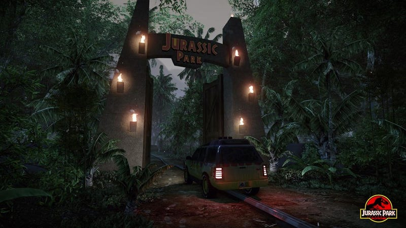 Jurassic Park Fan Project Is The Dinosaur Game I've Always