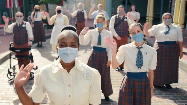 Disney World s New  Welcome Back  Video Looks Like a Bad Coronavirus Satire