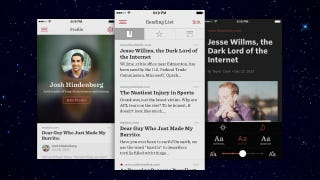 Illustration for article titled Readability Gets iOS 7 Redesign, Adds Recommendations to Mobile