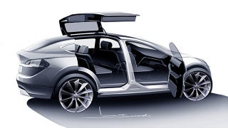Illustration for article titled The Tesla Model X Is Finally Coming Next Month