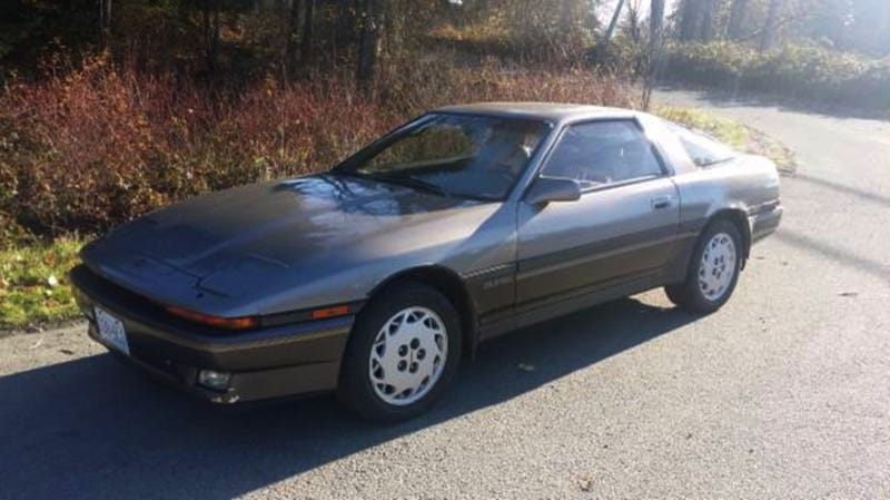 Illustration for article titled This 1987 Toyota Supra Asks $5,500CAD And Wears A Bowtie