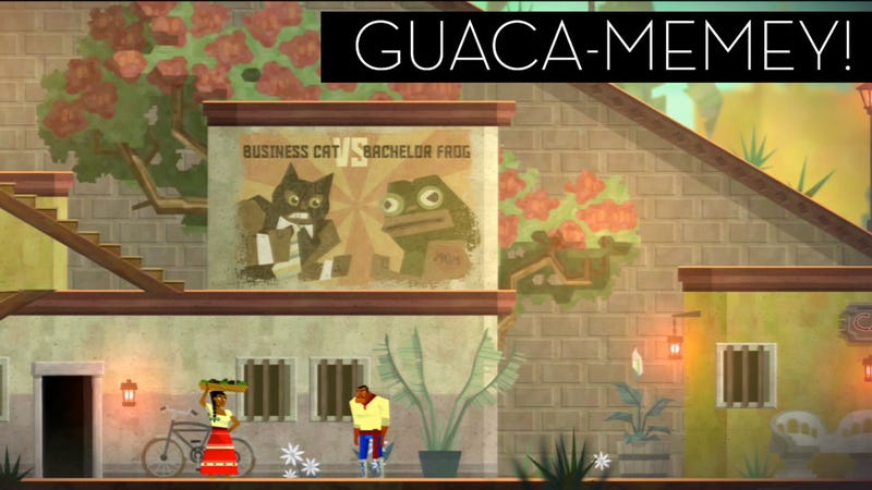 Illustration for article titled The Many Memes, References and Homages of Guacamelee!