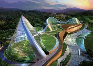 Illustration for article titled South Korea Plans Giant Eco Dome