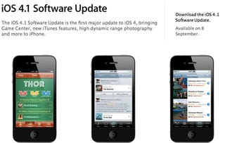 Illustration for article titled iOS 4.1 Released On September 8th
