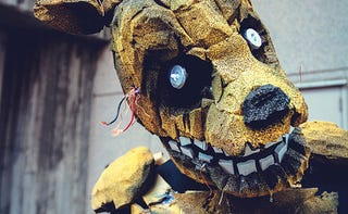 Illustration for article titled Killer Five Nights At Freddy's Cosplay