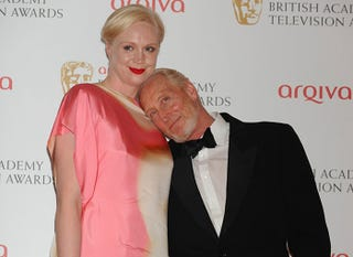 Illustration for article titled Gwendoline Christie and Charles Dance at the BAFTAs