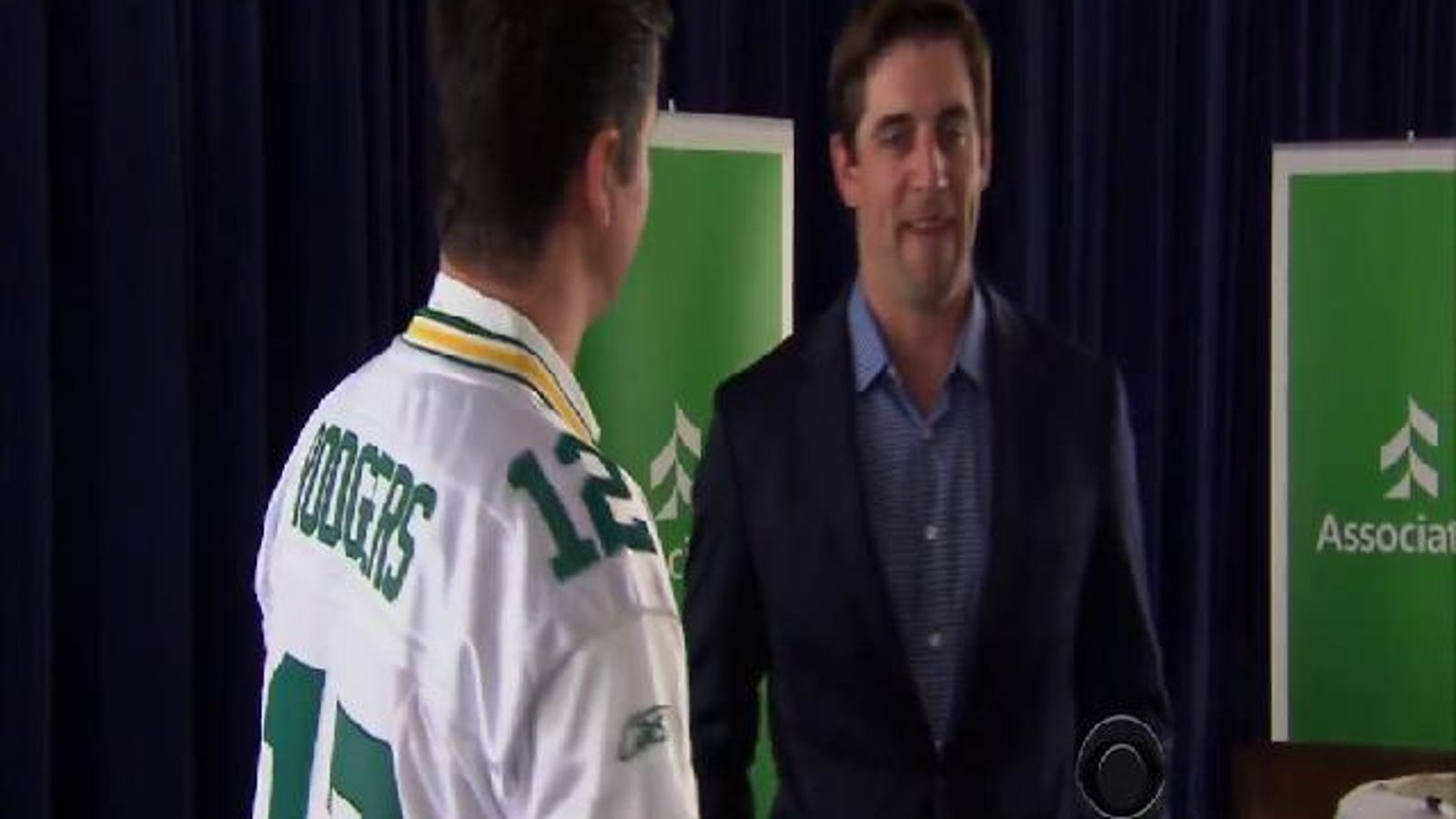 Aaron Rodgers Is Very Sensitive About His Height