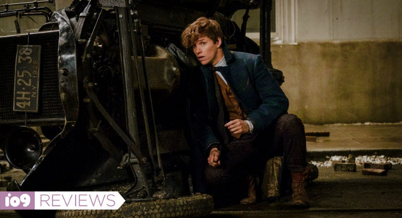 Eddie Redmayne stars in Fantastic Beasts and Where to Find Them. All Images: Warner Bros.