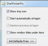 Illustration for article titled ShellFolderFix Brings Saved Folder Positions Back to Windows 7