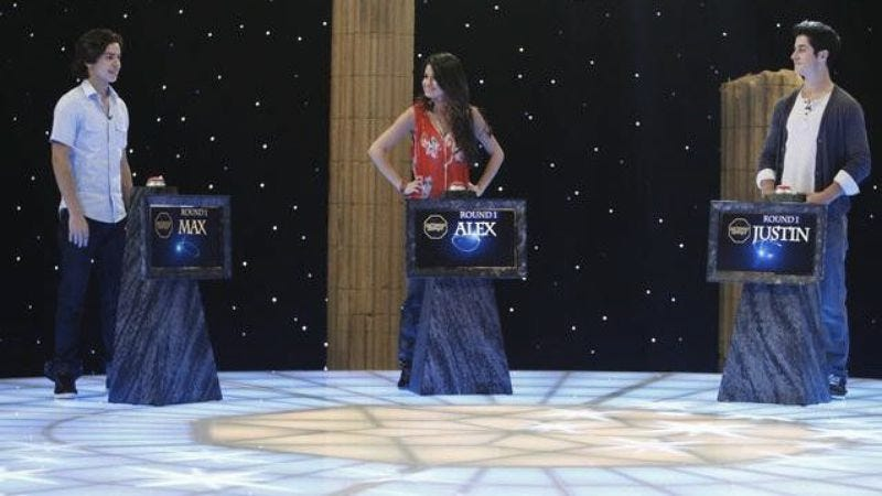 """Illustration for article titled Wizards Of Waverly Place - """"Who Will Be The Family Wizard?"""""""