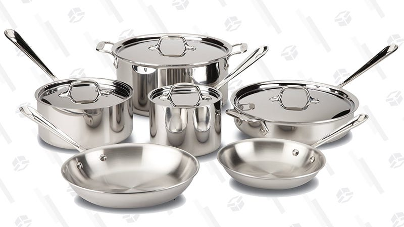 All-Clad 10-Piece Cookware Set | $560 | Amazon