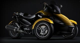 Illustration for article titled So That's What That Was: The Can-Am Spyder