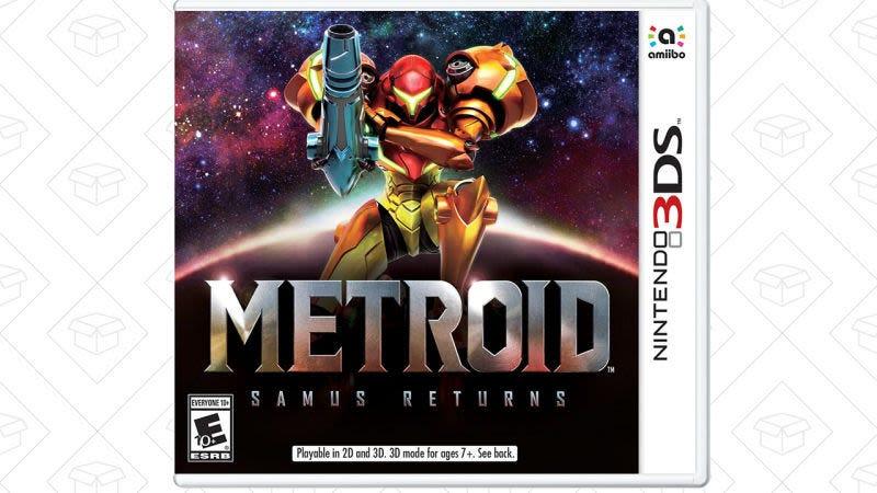 Reserva  Metroid: Samus Returns, $32 con Amazon Prime